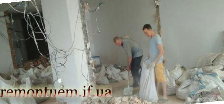 Демонтаж бетонної стяжки Івано-Франківськ