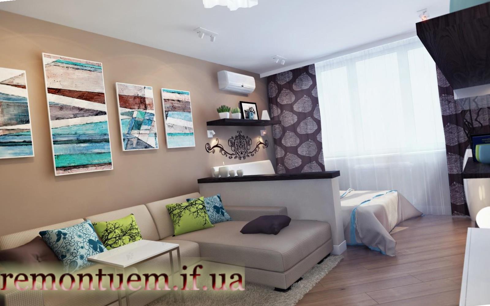 Дизайнерський ремонт квартир Івано-Франківськ