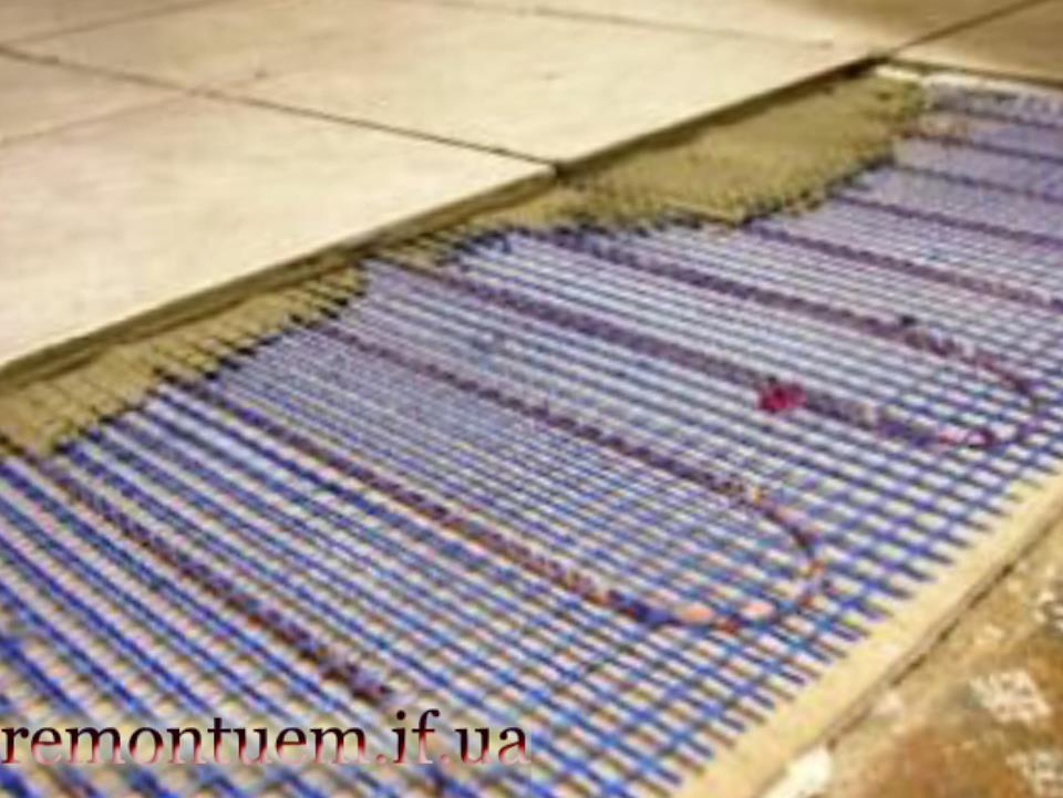 Електропідігрів підлоги