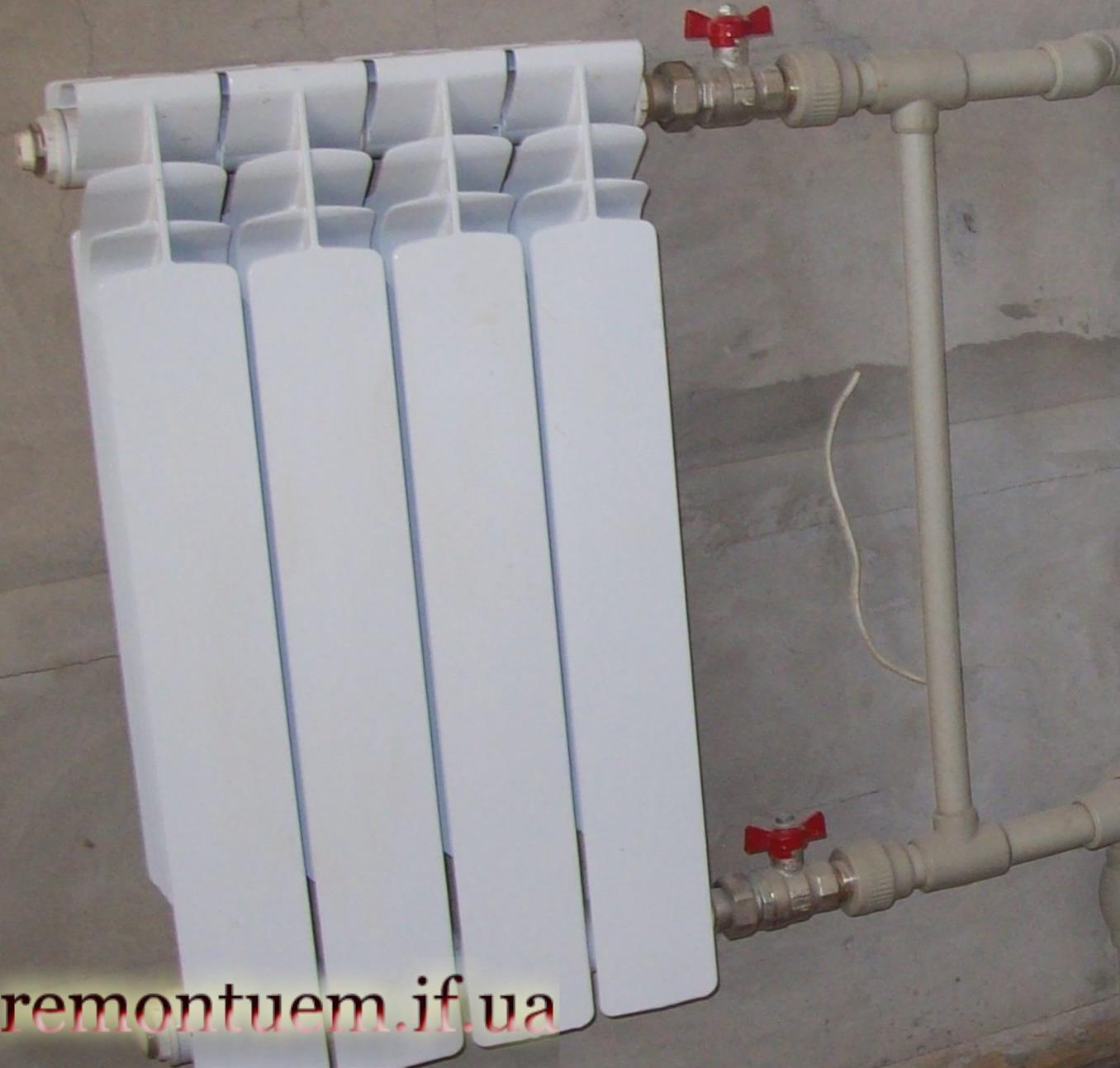 Монтаж батарей опалення Івано-Франківськ