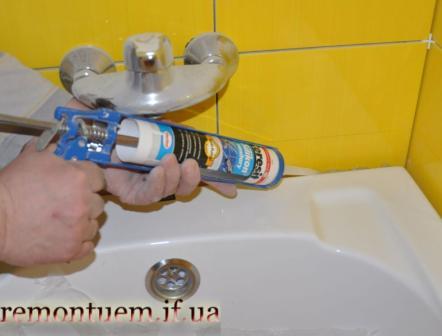 Монтаж кутової ванни Івано-Франківськ