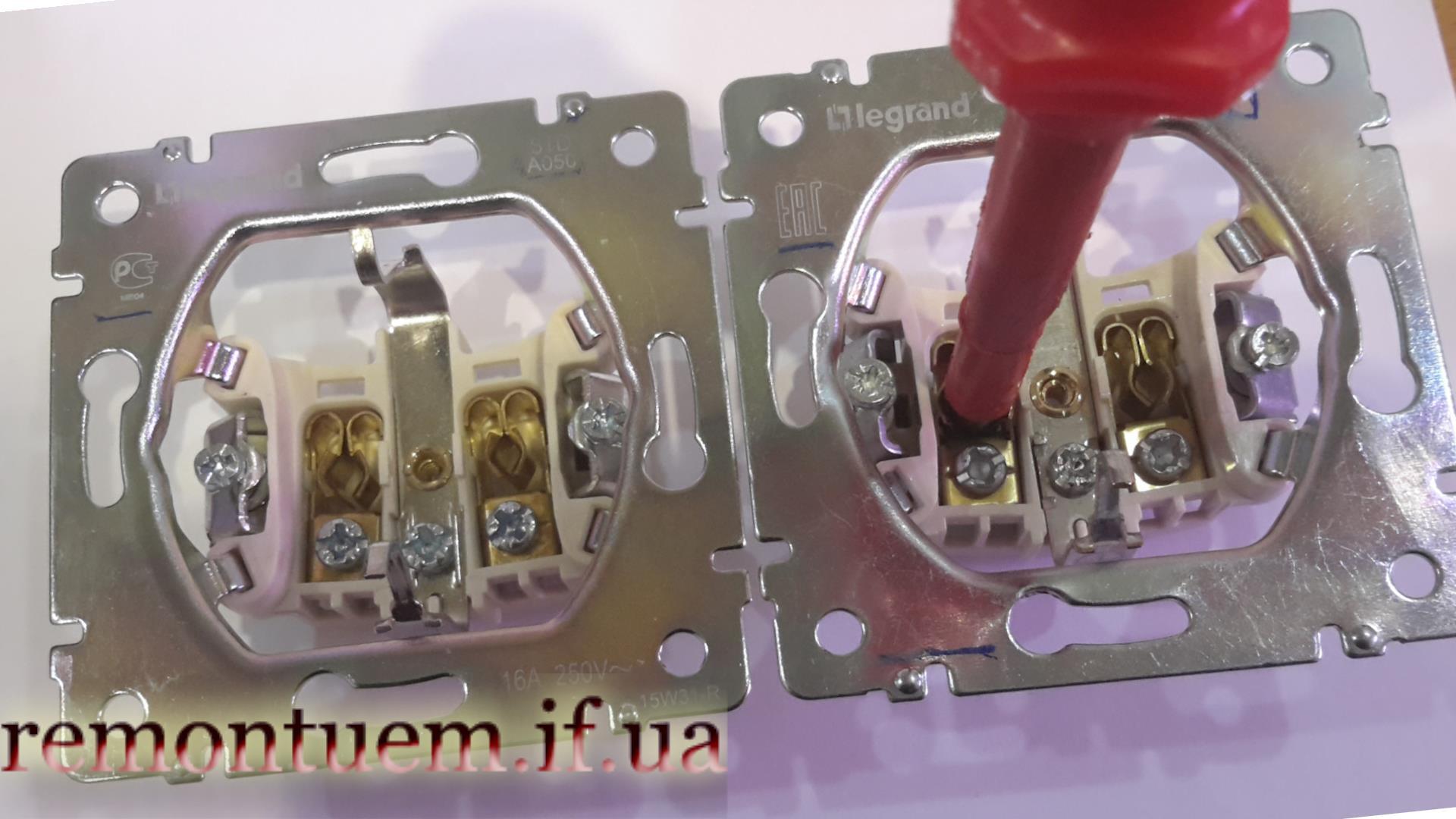 Монтаж подвійної розетки Івано-Франківськ