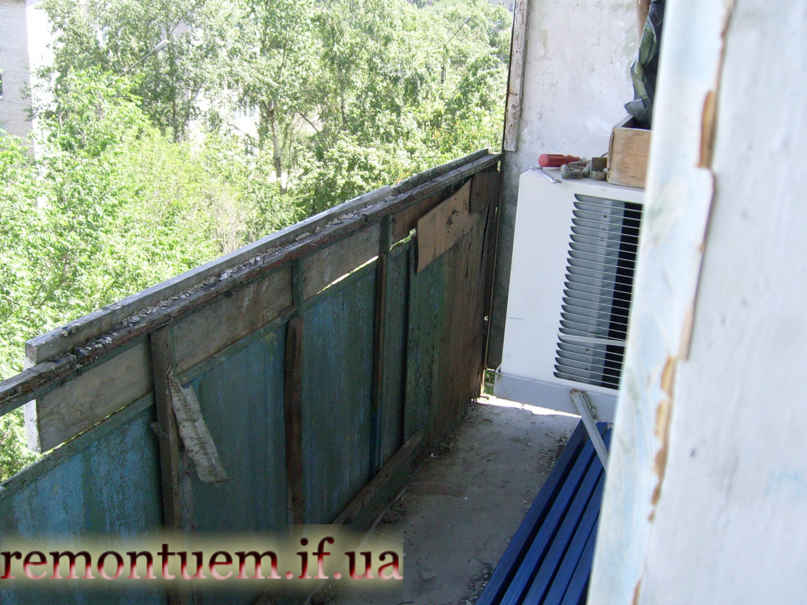 Ремонт балкону Івано-Франківськ