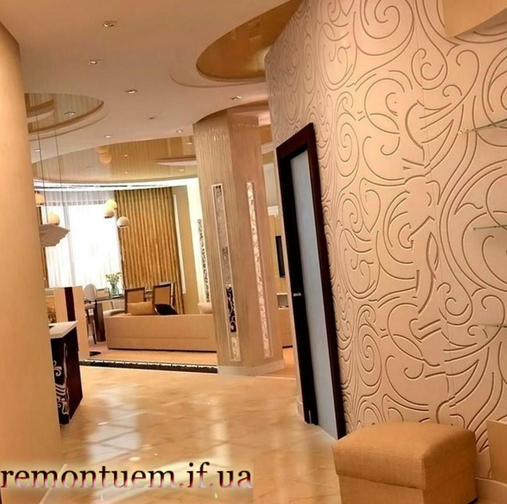 Ремонт коридору, вітальної кімнати