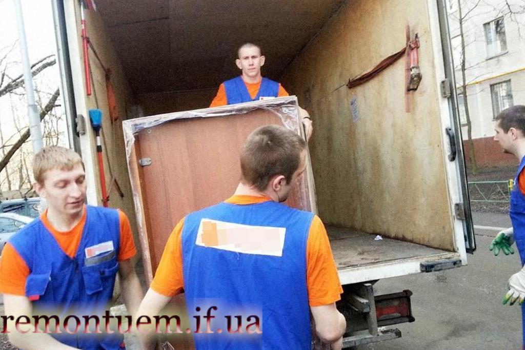 Ціни на послуги вантажників у Івано-Франківську