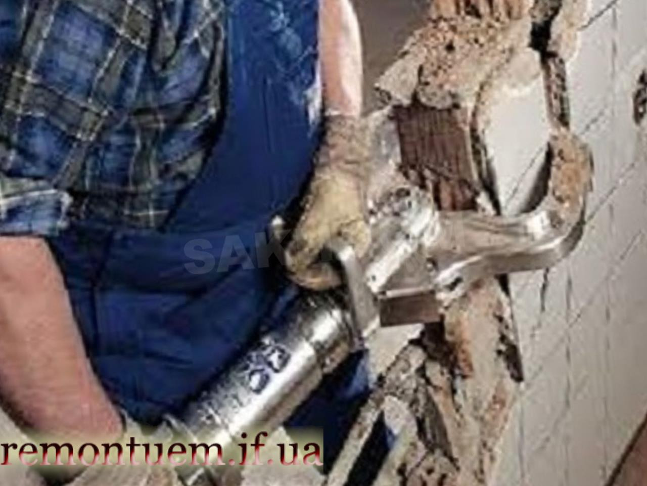 Ціни на демонтажні роботи в Івано-Франківську